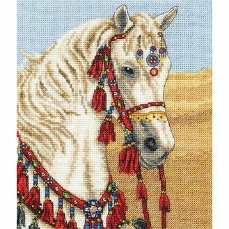 Arabian Horse Cross Stitch Kit