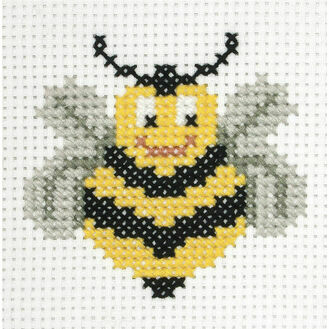 Bee Cross Stitch Kit