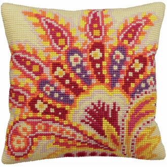 Passion Cross Stitch Cushion Panel Kit