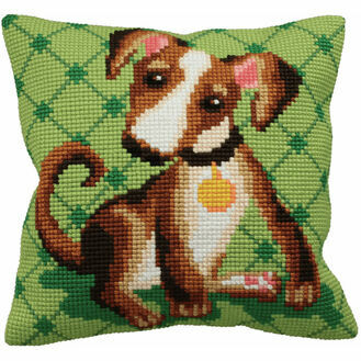 Astuss Cross Stitch Cushion Panel Kit