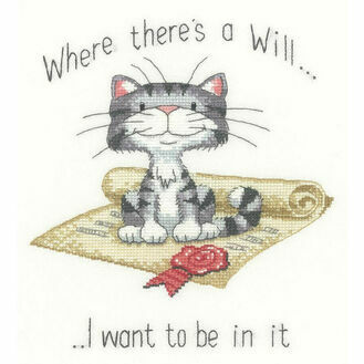 Where There's A Will Cross Stitch Kit