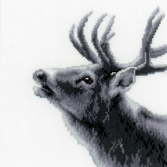 Roaring Deer Cross Stitch Kit
