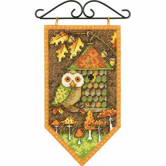 Autumn Banner Cross Stitch Kit