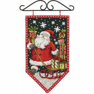 Winter Banner Cross Stitch Kit