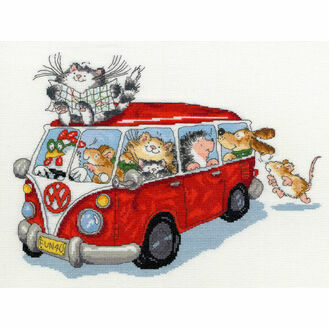 Are We There Yet? Cross Stitch Kit