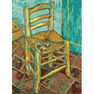 Van Gogh's Chair Cross Stitch Kit