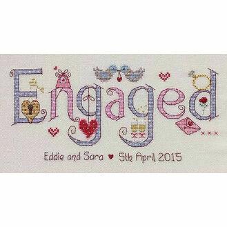 Engaged Cross Stitch Kit