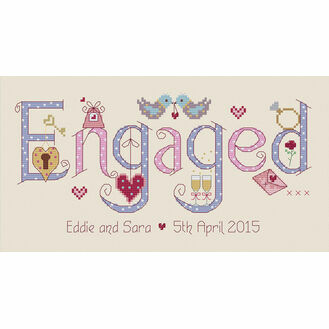 Engaged Cross Stitch Kit