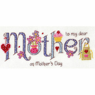 Mother Cross Stitch Kit