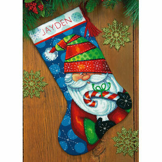 Sweet Santa Needlepoint Stocking Kit