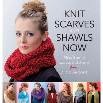Knit Scarves & Shawls Now Pattern Book