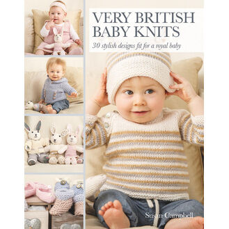 Very British Baby Knits Pattern Book