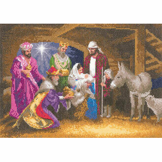 Nativity Cross Stitch Kit (By John Clayton)
