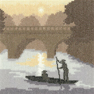 On The River Cross Stitch Kit