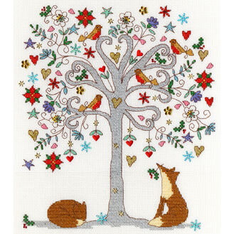 Love Winter Cross Stitch Kit