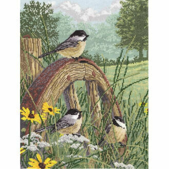 Meadow's Edge Cross Stitch Kit
