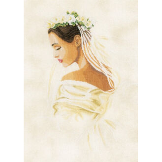 Bride Cross Stitch Kit