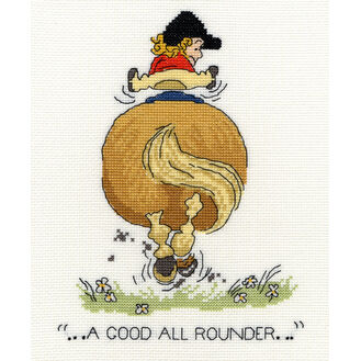 Thelwell A Good All Rounder Cross Stitch Kit