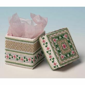 Apple Blossom Box 3D Cross Stitch Kit