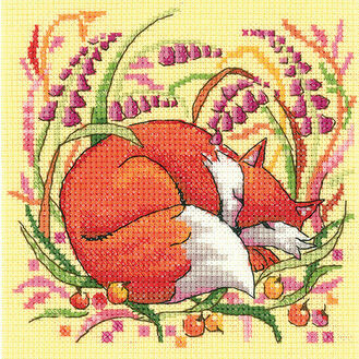 Fox Cross Stitch Kit