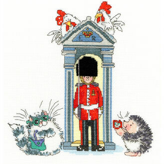 London On Parade Cross Stitch Kit