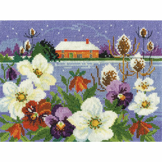 Winter Garden Cross Stitch Kit