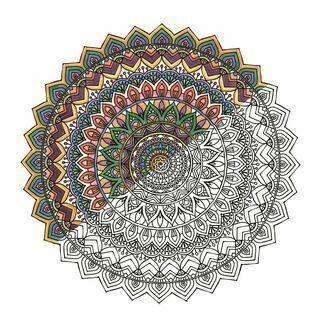 Mandala Zen Colour Kit