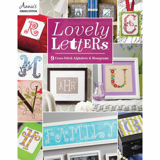 Lovely Letters: 9 Cross Stitch Alphabets & Monograms Book