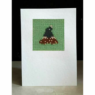 Bert The Mole Mini Beadwork Embroidery Card Kit