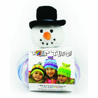 Snowman Top This! Hat Knit Kit