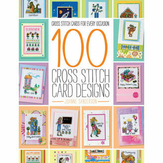100 Cross Stitch Card Designs by Joanne Sanderson