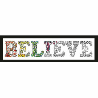 Zenbroidery Believe Fabric Pack