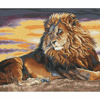 Sunset On The Pridelands Cross Stitch Kit