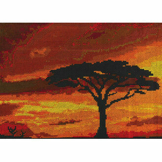 Savannah Sunset Cross Stitch Kit