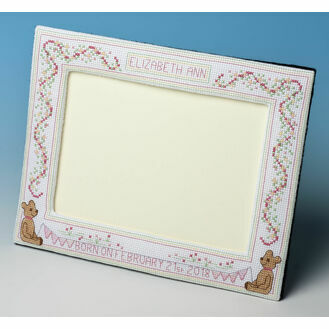 Baby Girl Frame Cross Stitch Kit
