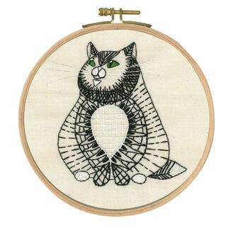 Sebastian Sitting Embroidery Kit