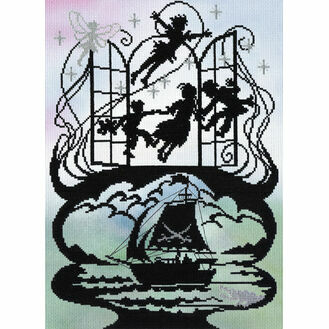 Peter Pan (P) Cross Stitch Kit