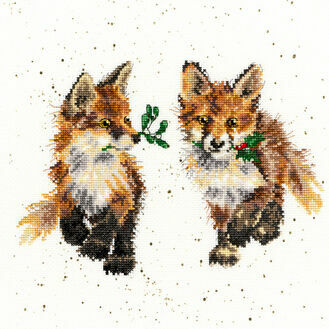 Glad Tidings Cross Stitch Kit