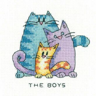 The Boys Cross Stitch Kit
