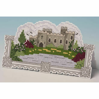 Castle Card 3D Cross Stitch Kit