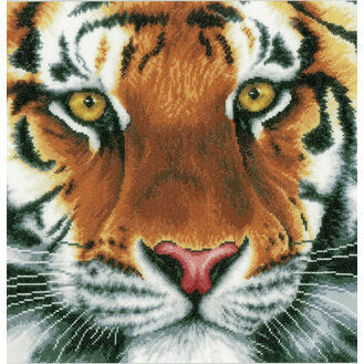 Tiger Cross Stitch Kit
