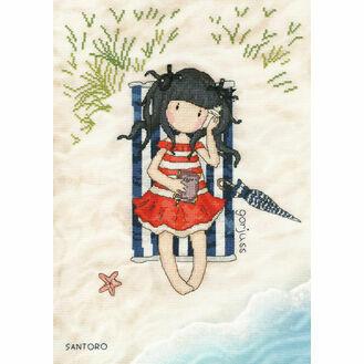 Gorjuss Summer Days Cross Stitch Kit