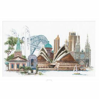 Thea Gouverneur Sydney Cross Stitch Kit