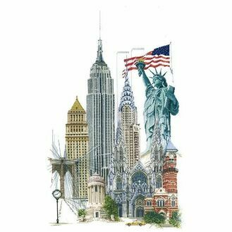 Thea Gouverneur New York Cross Stitch Kit