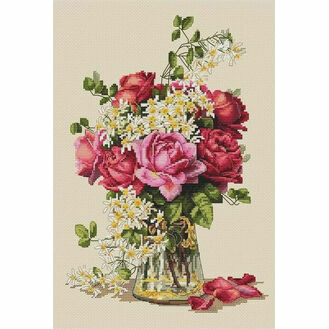 Roses Cross Stitch Kit