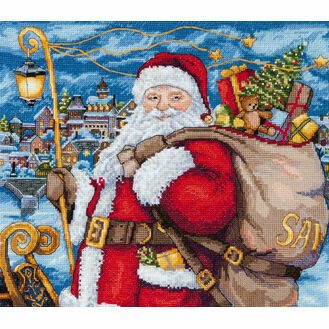 Santa Is Coming! Cross Stitch Kit