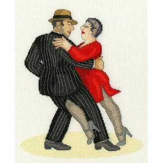 It Takes Two To Tango (Beryl Cook) Cross Stitch Kit