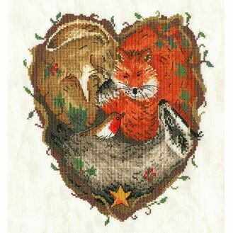 Heart Of The Woodland Cross Stitch Kit
