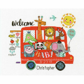 Baby On Board Cross Stitch Kit