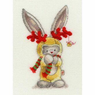 Bebunni - Rudolf Cross Stitch Kit